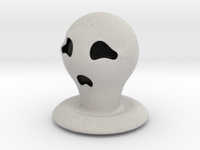 Halloween Character Hollowed Figurine: CryGhosty in Full Color Sandstone