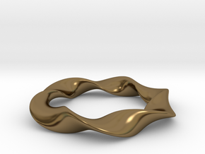 Amie Bracelet to suit 60mm hand (55mm inner circle in Polished Bronze