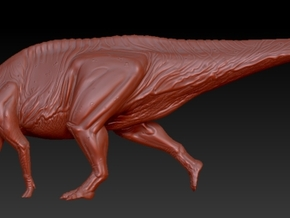 1/40 Parasaurolophus - Walking in White Strong & Flexible