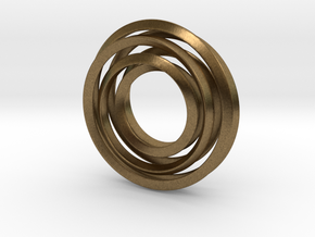Eternity Twisting in Natural Bronze