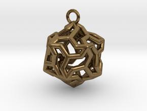 Platonic-5 in Natural Bronze