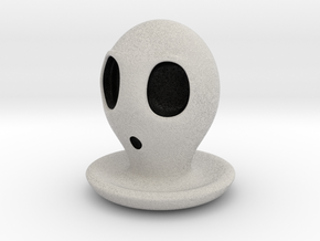 Halloween Character Hollowed Figurine: SurprisedGh in Full Color Sandstone