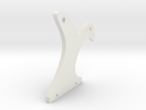 Side Plate in White Natural Versatile Plastic