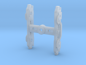 M&L Booster Truck Frames To Print in Frosted Extreme Detail