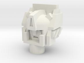 Legendary Architect Head in White Natural Versatile Plastic