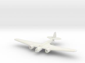 Tupolev SB 2 M-103 1/144 & 1/100 in White Natural Versatile Plastic: 1:144