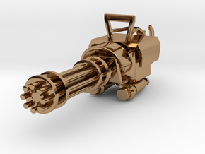 MiniGun in Polished Brass