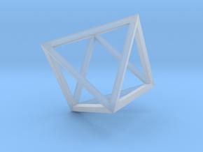 Octahedron(Leonardo-style model) in Smooth Fine Detail Plastic