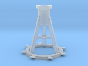 1:35 scale 20mm Pedestal, Late in Smooth Fine Detail Plastic
