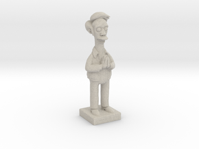 Apu from the Simpsons in Sandstone