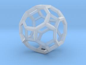Truncated Cuboctahedron(Leonardo-style model) in Smooth Fine Detail Plastic
