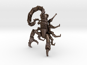 Skorpion 02 H.K.01 in Polished Bronze Steel
