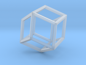Rhombic Dodecahedron(Leonardo-style model) in Smoothest Fine Detail Plastic