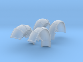 10A-LRV - Fenders in Smooth Fine Detail Plastic