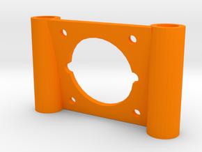 10 Degree FPV Camera Mount for QAV25 Quadcopters in Orange Processed Versatile Plastic