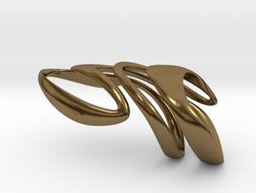 AKUSENTO Ring in Polished Bronze