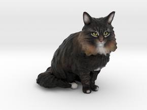 Custom Cat Figurine - Sora in Full Color Sandstone