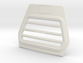 DAF-cab-grill-B-1to14 in White Natural Versatile Plastic
