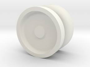 Pocket YoYo  in White Natural Versatile Plastic