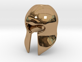Helm in Polished Brass