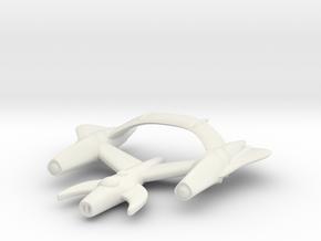 "Retrorocket ""Draco"" in White Strong & Flexible"