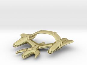 "Retrorocket ""Draco"" in 18k Gold Plated Brass"