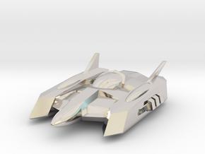 """RetroRocket """"Centaurus"""" in Rhodium Plated Brass"""