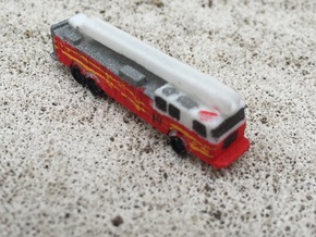 Seagrave 100' Aerial 1:285 scale in White Strong & Flexible