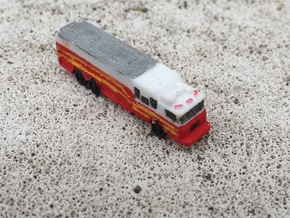 HME Saulsbury Rescue 1:285 scale in White Strong & Flexible