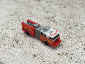 Seagrave Squad 1:285 scale in White Natural Versatile Plastic