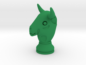 Pawn of Thaur / Bull Small Single in Green Processed Versatile Plastic