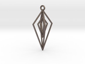 Damocles in Polished Bronzed Silver Steel