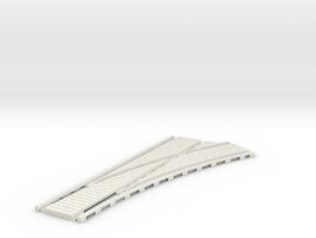 P-45stg-tram-rh-point-200-1a in White Natural Versatile Plastic