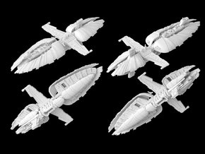(Armada) Munificent Frigate in White Strong & Flexible