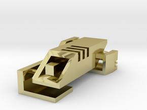 Ingress Portal Key in 18k Gold Plated Brass