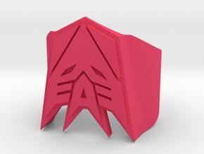 Decepticon-ring US Size#14 in Pink Processed Versatile Plastic