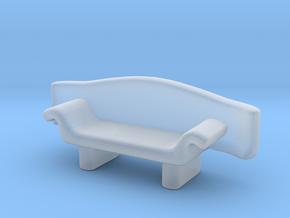 Couch No. 5 in Smooth Fine Detail Plastic