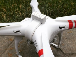 DJI Phantom - Snap Strap with Picatinny Rail in White Natural Versatile Plastic