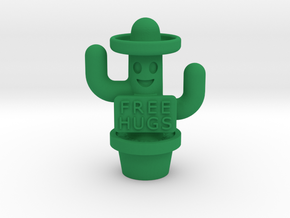Free Hugs Cactus in Green Strong & Flexible Polished