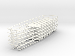 1/18 Tapered Stokes Basket (Set of 5) in White Strong & Flexible Polished