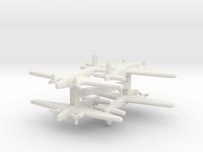 Vickers Wellington 1:900 x4 in White Natural Versatile Plastic
