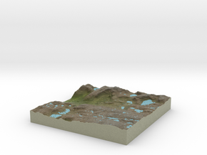 Terrafab generated model Thu Jul 02 2015 18:25:37  in Full Color Sandstone