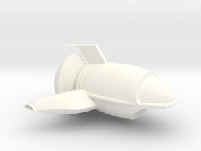 Dimitri1 in White Processed Versatile Plastic
