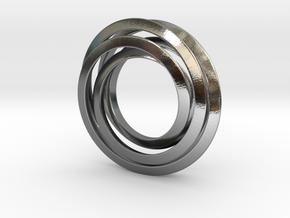 Spiro 3Cm in Polished Silver