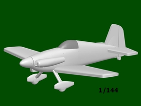 Midget Mustang #9, scale 1/144 in Smooth Fine Detail Plastic