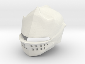 Elite Knight Helmet Dark Souls for LEGO in White Natural Versatile Plastic