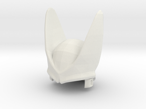 Custom Perfect Cell Inspired Headpiece for Lego in White Natural Versatile Plastic