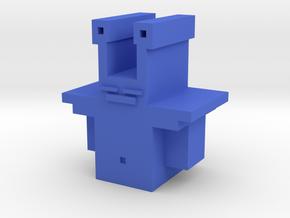 Captain Yorkel in Blue Processed Versatile Plastic