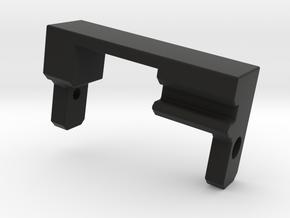 Jeep Tj Custom Kit - RC4WD R2 Microservo Mount in Black Natural Versatile Plastic