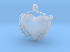 Heart Engine in Smoothest Fine Detail Plastic